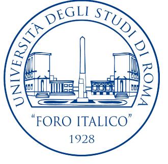 """Università degli Studi di Roma """"Foro Italico"""" IUSM – Rome ITALY"""